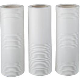 Daemyn White Vase Set of 3