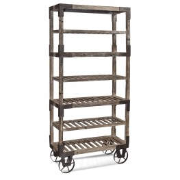 Weathered Gray Foundry Rack