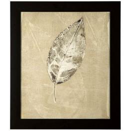 Balara Beige Leaf Design Wall Art