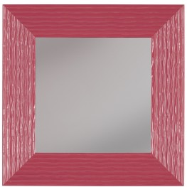 Odelyn Fuchsia Accent Mirror