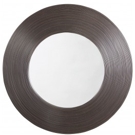 Odeletta Brown Accent Mirror