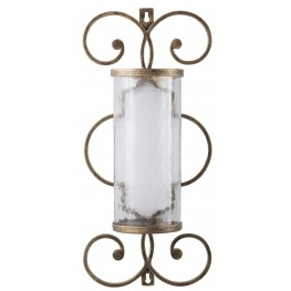 Oen1 Antique Gold Wall Sconce