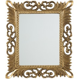 Denisha Antique Gold Accent Mirror