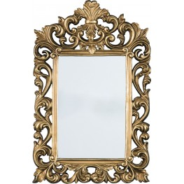 Denita Antique Gold Accent Mirror