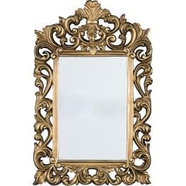 Denita Antique Gold Accent Mirror