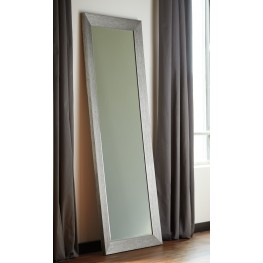 "Duka Silver 78"" Accent Mirror"