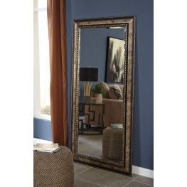 """Dulal Antique 72"""" Silver Accent Mirror"""