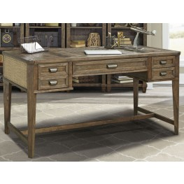 "Aberdeen Antique Vintage Stone 60"" Writing Desk"