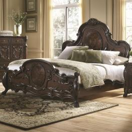 Abigail Queen Panel Bed