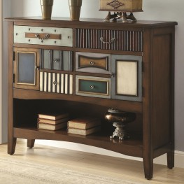950329 Mismatched Drawer Accent Cabinet