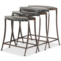 Discoveries Troca and Cabibe Shell Nesting Tables