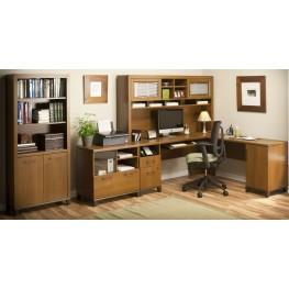 Achieve Warm Oak Home Office Set