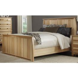 Adamstown Natural King Panel Bed