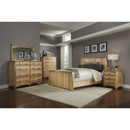 Adamstown Natural Panel Bedroom Set