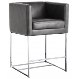Agency Counter Stool In Grey Nobility