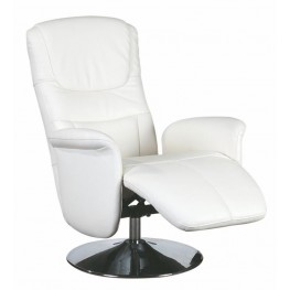Andria White Motion Chair