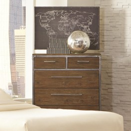 Arcadia Weathered Acacia 6 Drawer Chest