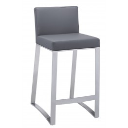 Architect Grey Counter Stool