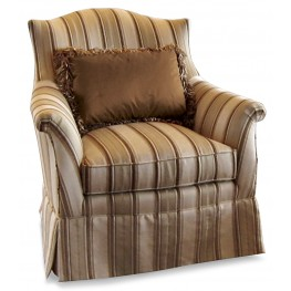 Devonshire Grace Skirted Accent Chair
