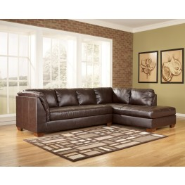 Fairplay DuraBlend Mahogany Right Corner Sectional