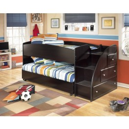 Embrace Youth Right Twin Over Twin Loft Bed