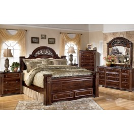Gabriela Poster Storage Bedroom Set