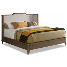 Atherton King Cerused Teak Bed