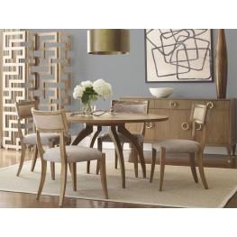 Atherton Cerused Teak Dining Room Set