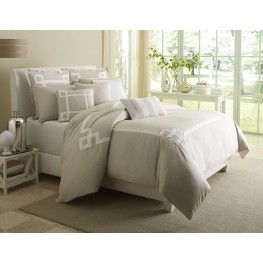 Avenue A Natural Queen 9 piece Comforter Set