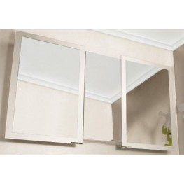 "Axara 59"" Hinge Left Anodized Mirror Cabinet"