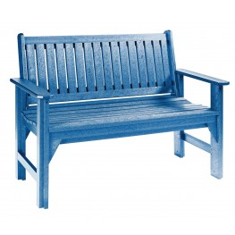 Generations Blue Garden Bench