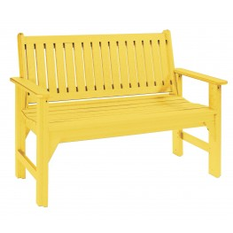 Generations Yellow Garden Bench