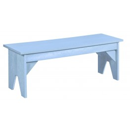 Generations Sky Blue Lifestyle Outdoor Bench