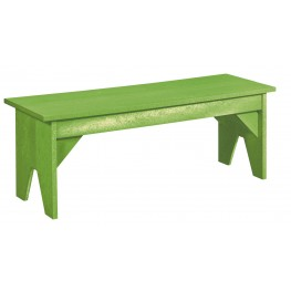 Generations Kiwi Lime Lifestyle Outdoor Bench