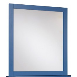 Bronilly Blue Bedroom Mirror