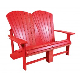 Generations Red Addy Loveseat