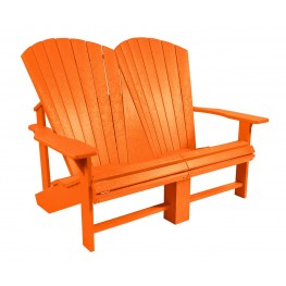 Generations Orange Addy Loveseat