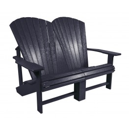 Generations Black Addy Loveseat