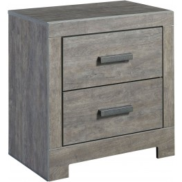 Culverbach Gray 2 Drawer Nightstand