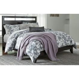 Agella Merlot King Panel Bed