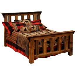 Barnwood Cal. King Post Bed