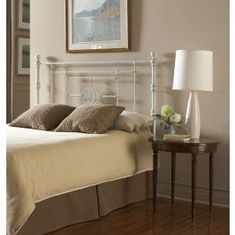Lafayette Distressed White Cal. King Headboard