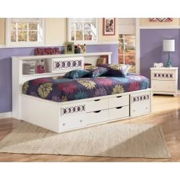 Zayley Twin Bookcase Storage Bed
