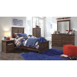 Burminson Brown Youth Panel Bedroom Set