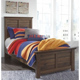 Burminson Brown Twin Panel Bed