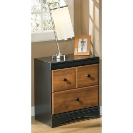Aimwell Two Drawer Nightstand