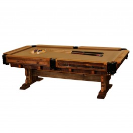 Barnwood Pool Table