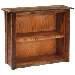 Small Bookshelf With Barnwood Legs
