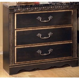 Coal Creek 3 Drawer Nightstand
