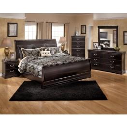 Esmarelda Sleigh Bedroom Set